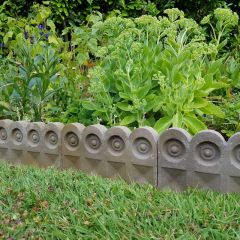 Button Garden Edging