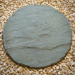 Circular Riven York Stepping Stones