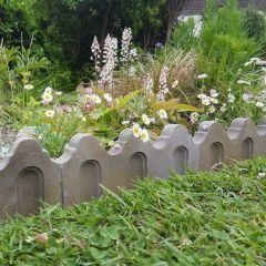 Fluted Garden Edging