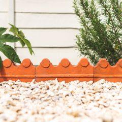 Benson Decorative Garden Edging - Terracotta