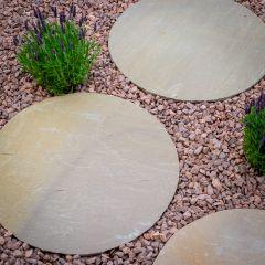 Round Stepping Stone 450mm - Raj Blend