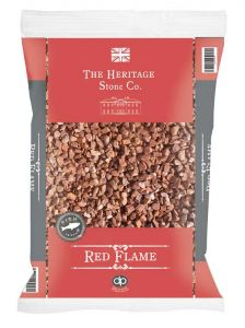 Red Flame Decorative Aggregate 14mm