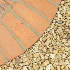 Rustic Tudor Brick Garden Pavior - Tapered