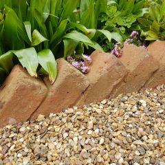 Sawtooth Brick Edging