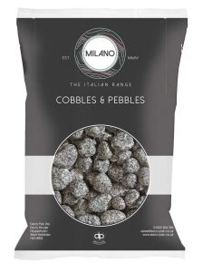 Silver Granite Pebbles 25-40mm