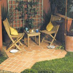 Terracotta Octagon Patio Kit