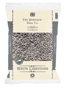 White Limestone 20mm Decorative Aggregate