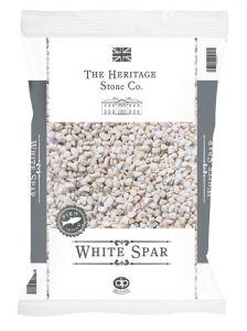 White Spar 14mm Gravel